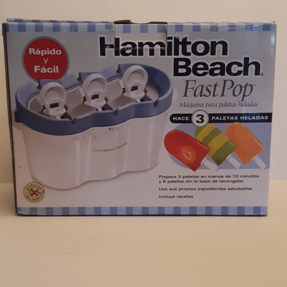 Hamilton Beach Fast Pop Popsicle Maker